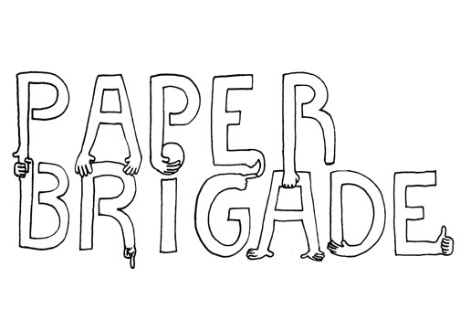 TYPE DESIGN FOR PAPER BRIGADE