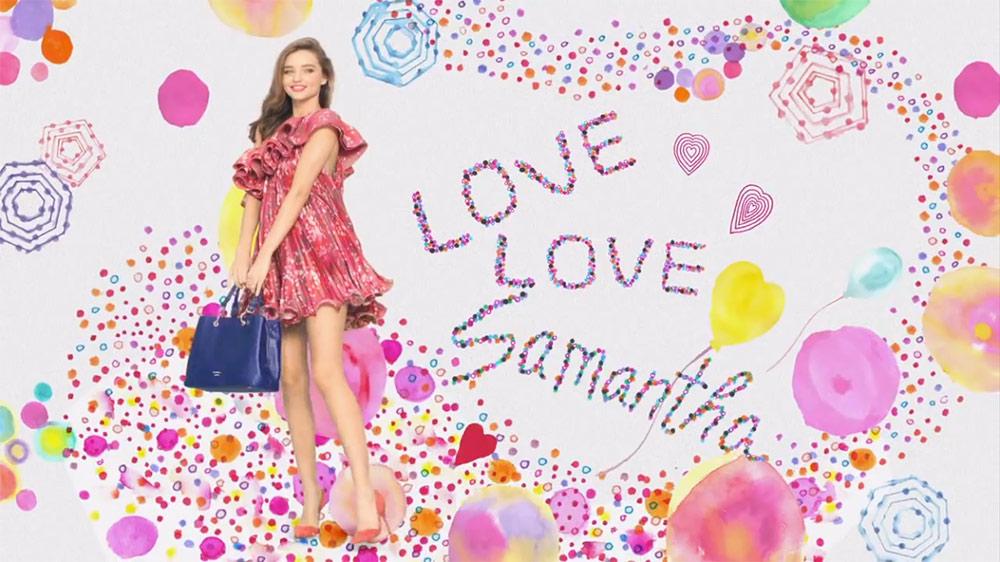 Samantha Thavasa TV Commercial